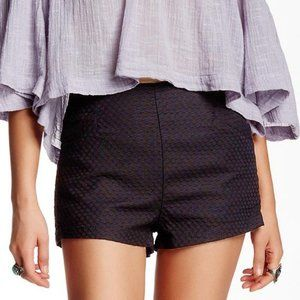 Free People Size 2 Newman Shorts Black High Rise